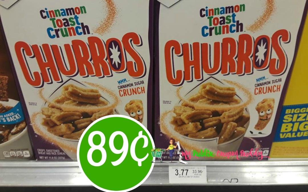 Cinnamon Toast Churros Cereal 89¢ at Publix