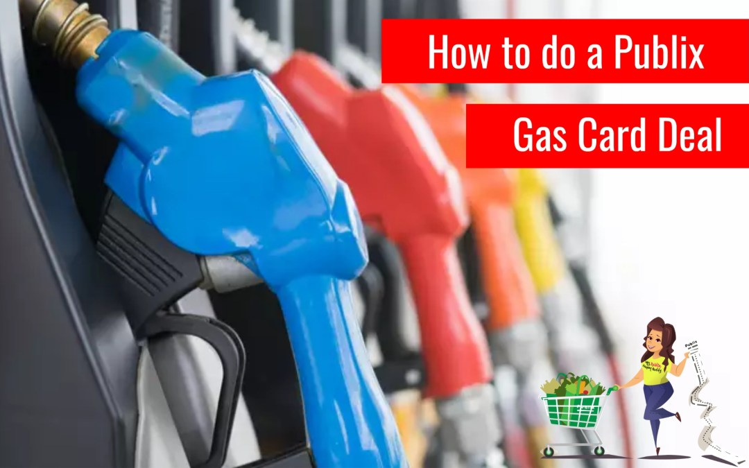 How to do a Publix Gas Card Deal