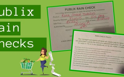 Publix Rainchecks
