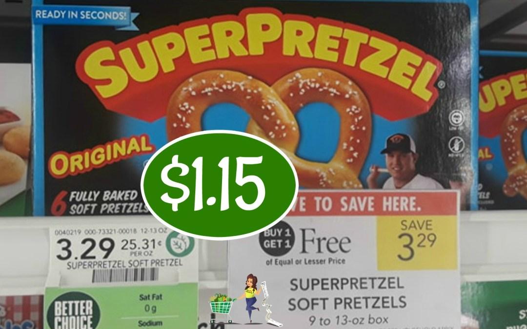 Super Pretzel $1.15 at Publix