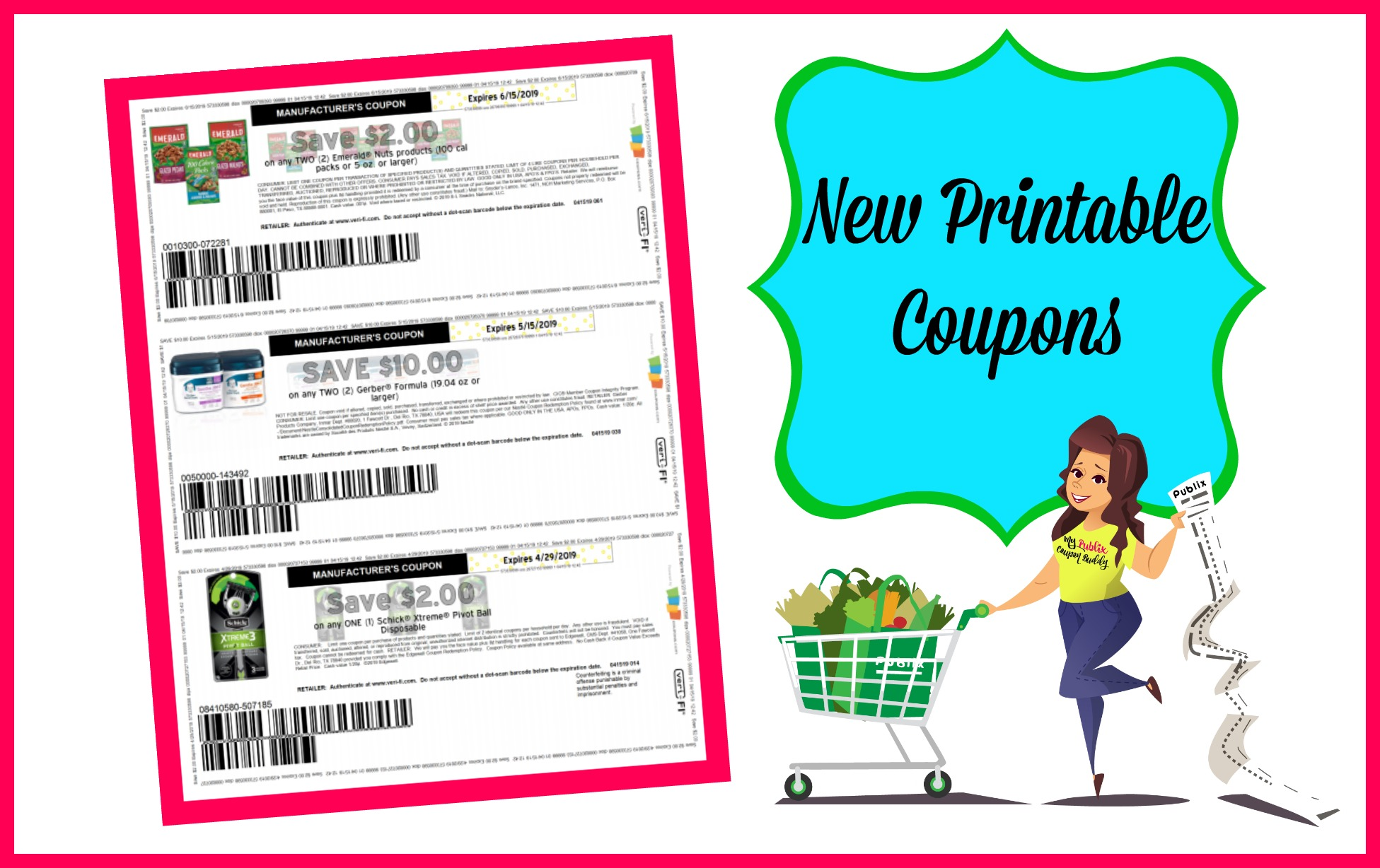 photograph about Gerber Printable Coupons identify Refreshing Printable Discount coupons ~ Gerber, Emerald and even further! My