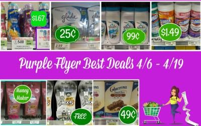 Publix Purple Flyer Best Deals 4/6 – 4/19