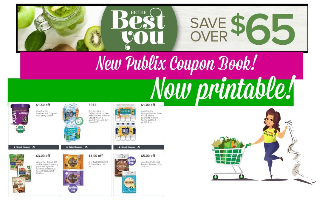 Now Printable Best You Publix Coupon Book 5/18 – 6/15