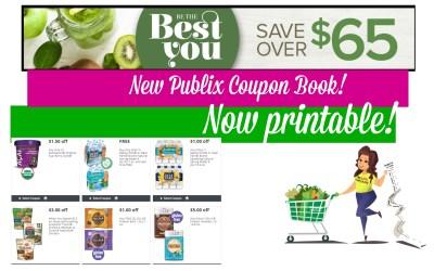 Now Printable Best You Publix Coupon Book 5/18 – 6/15