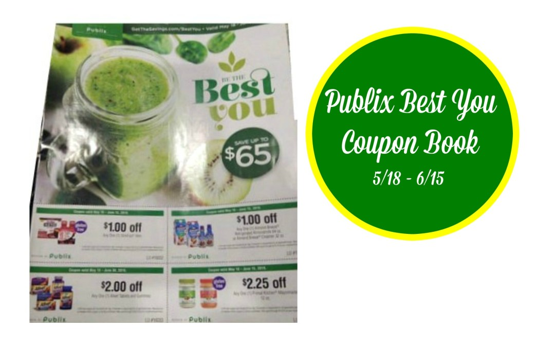 Publix Best You Coupon Book MatchUps 5/18 – 6/15