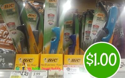 Bic Multi-Purpose Lighter $1 ea at Publix