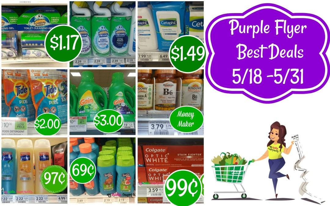 Purple Flyer Best Deals 5/18 -5/31