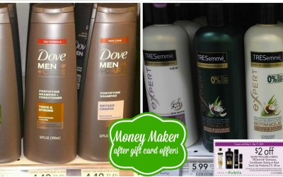 Money Maker on Tresemme and Dove Hair Care (if your store accepts Target as a competitor)