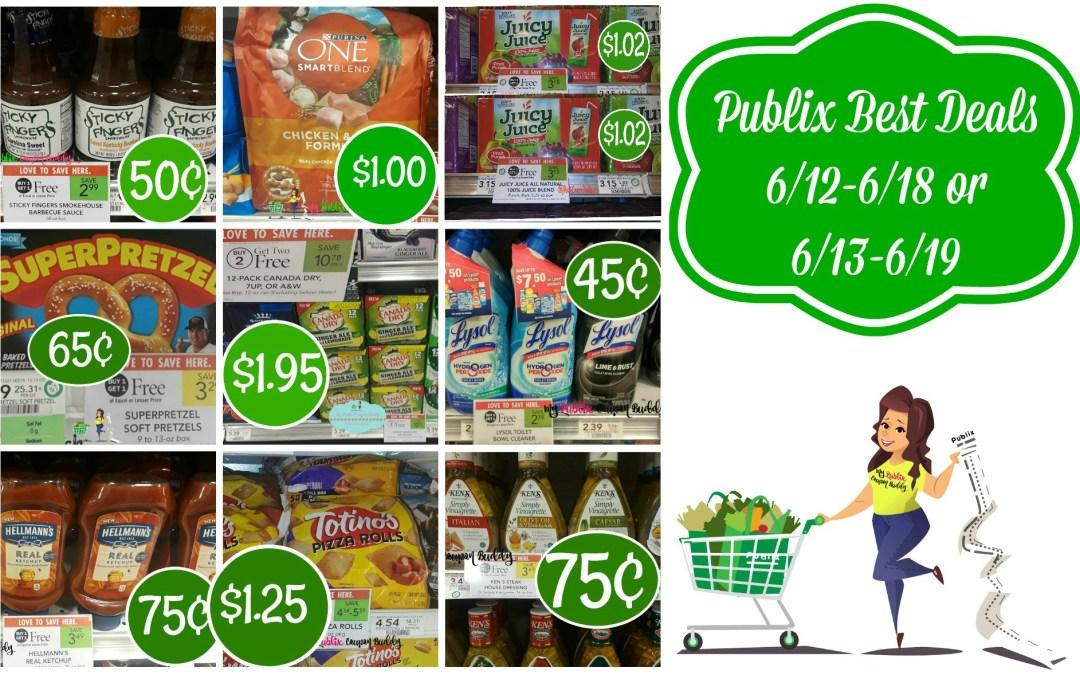 Publix Best Deals 6/12-6/18 or 6/13-6/19