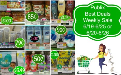 Publix Best Deals of the Weekly Sale 6/19-6/25 or 6/20-6/26