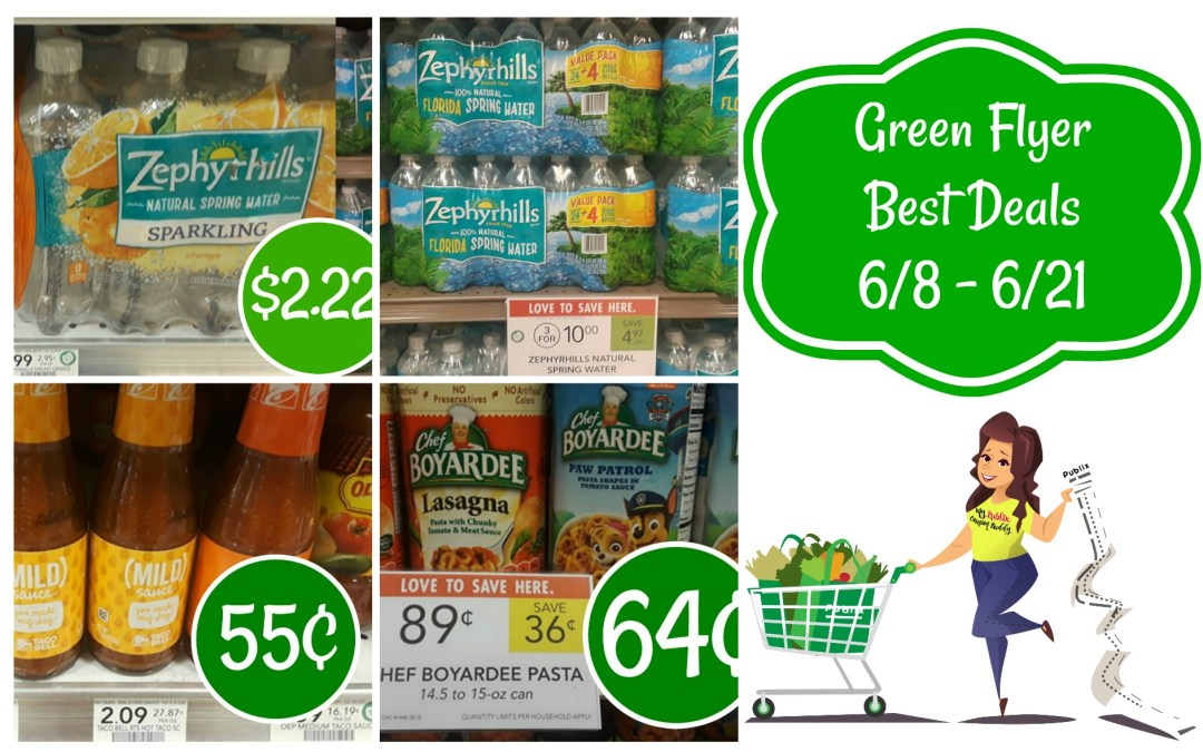 Publix Green Flyer Best Deals 6/8 -6/21