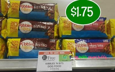 Kibbles & Bits Dog Food $1.75 at Publix