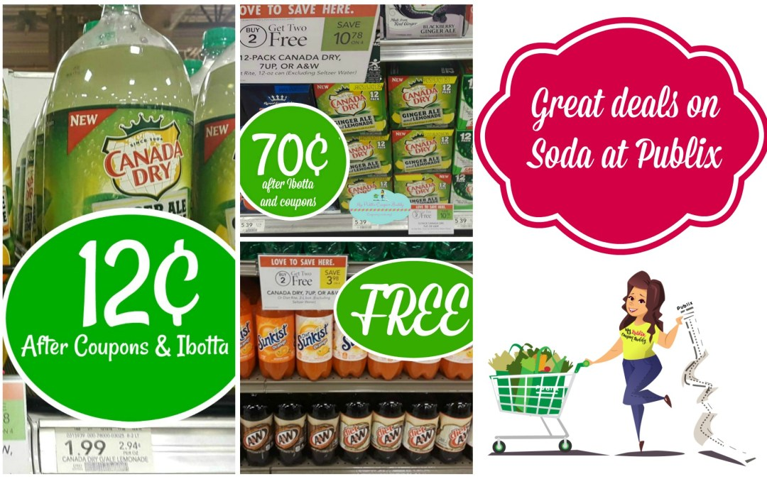 Great Soda Deals at Publix!
