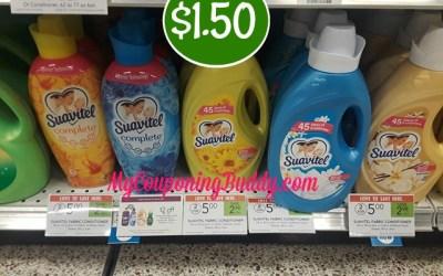 Suavitel Fabric Softener $1.50 at Publix