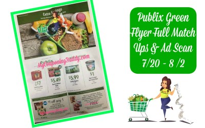 Publix Green Flyer Full Match Ups & ad Scan 7 /20 – 8 /2
