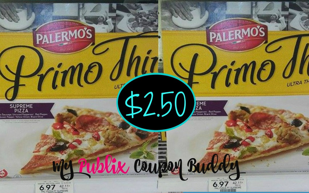Palermo's Primo Thin Pizza $2.50 at Publix