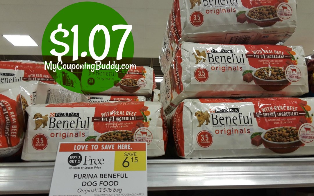 Beneful Dog Food $1.07 at Publix