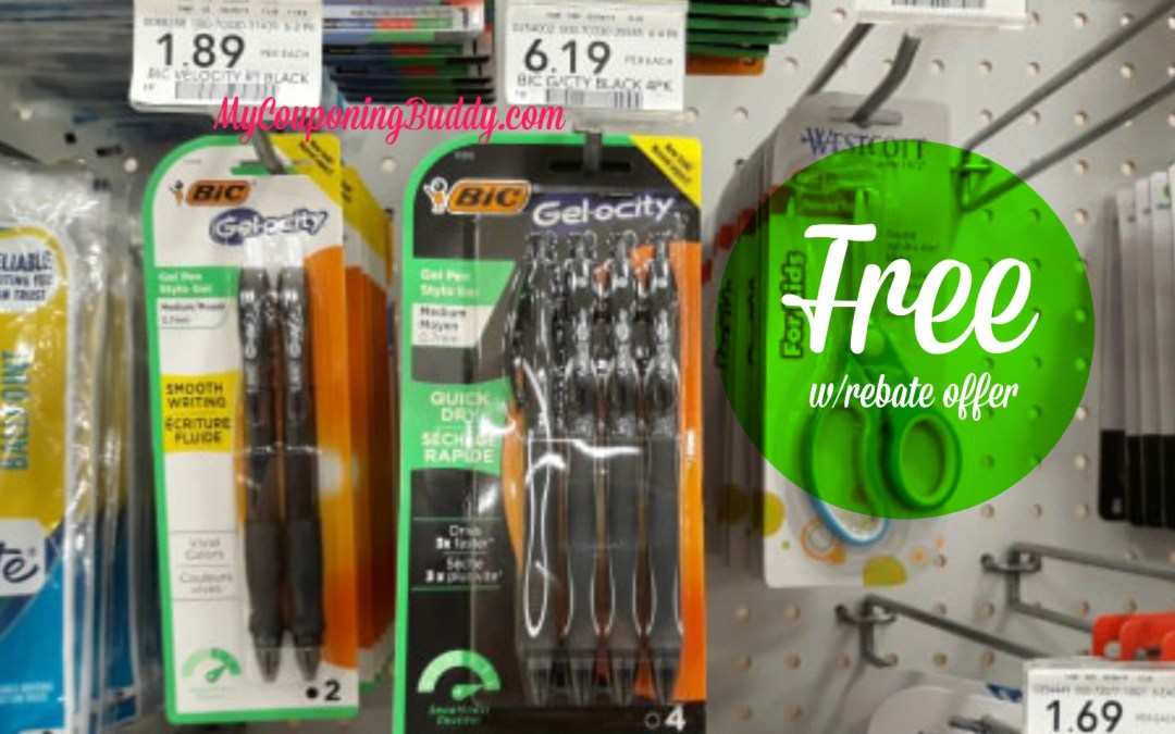 Free Bic Gelocity Pens at Publlix