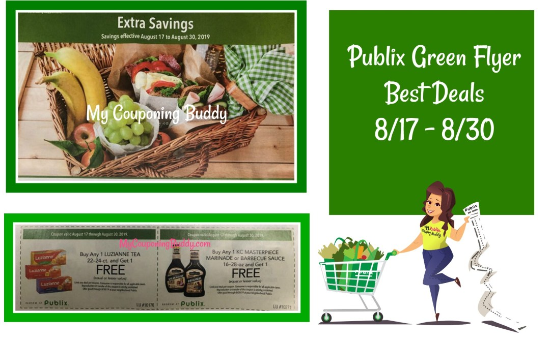Publix Green Flyer Best Deals 8/17 – 8/30