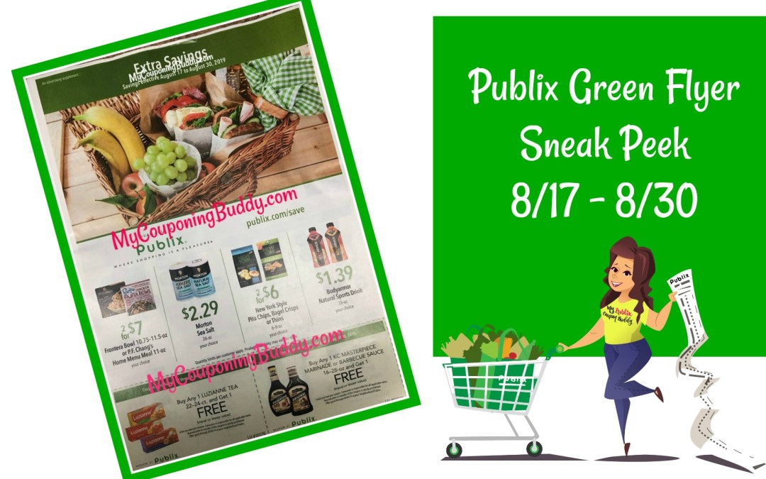 Publix Green Flyer Sneak Peek 8/17 – 8/30
