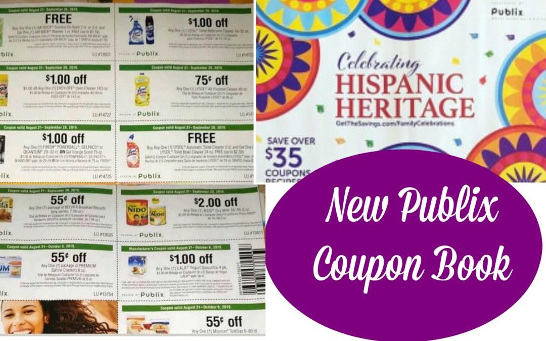Publix Hispanic Heritage Coupon Book & Printable 8/31-9/28