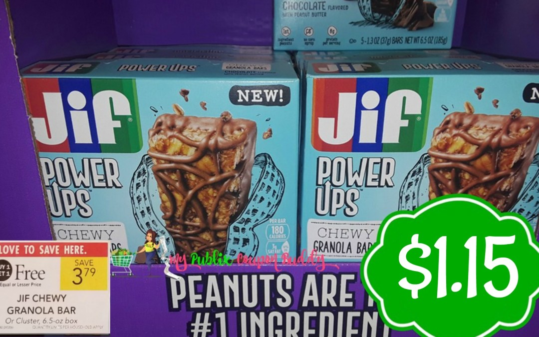 Jif Power Ups $1.15 at Publix
