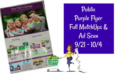 Publix Purple Flyer Full MatchUps and Ad Scan 9/21 – 10/4