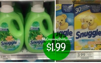 Snuggle $1.99 at Publix