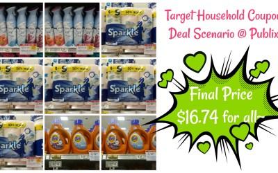 Deal Idea Using Target Coupon at Publix