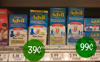 New Printable Coupon: Children's or Infants Advil as low as 39¢