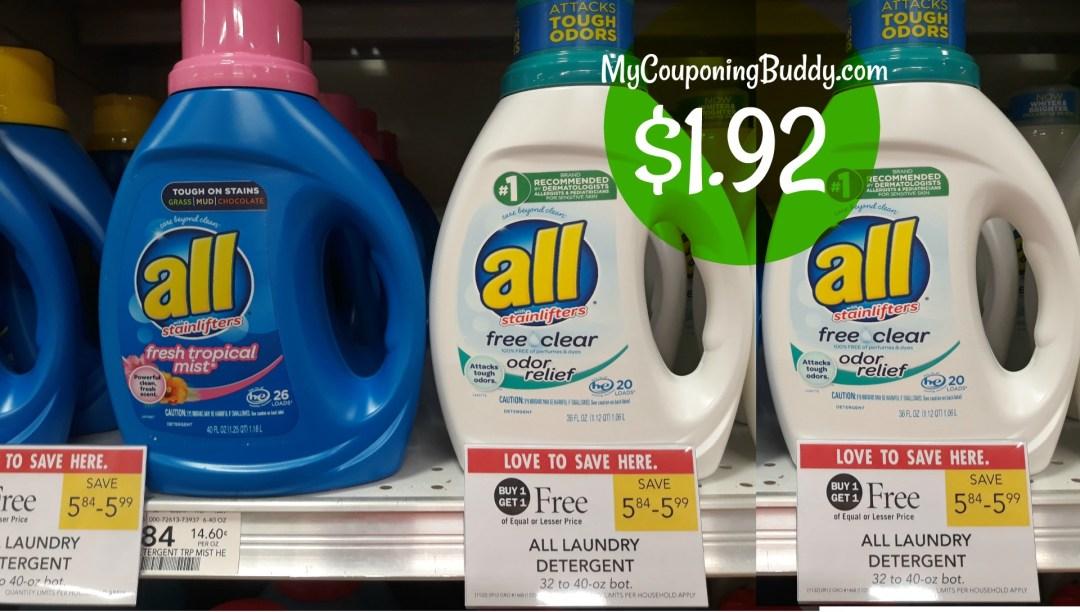all laundry detergent Publix