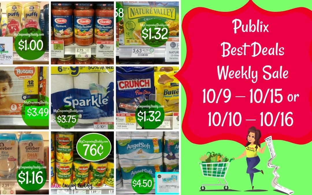 Publix Couponing, Hottest Publix Deals Publix Weekly Ad Sneak Peek 10/9 – 10/15 or 10/10 – 10/16
