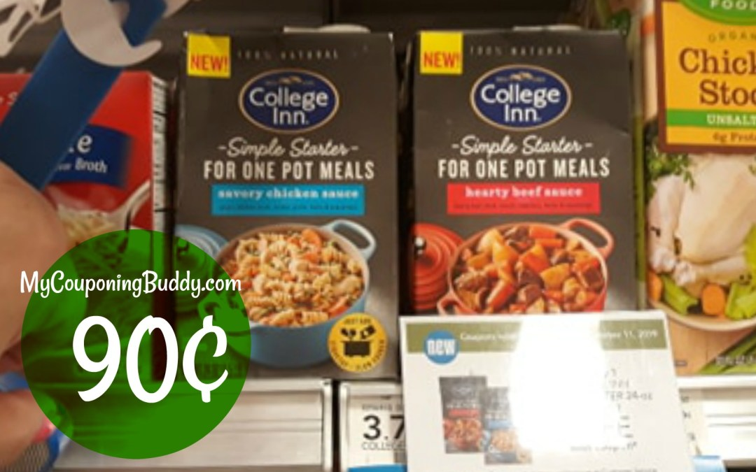 College Inn Simple Starters 90¢ at Publix