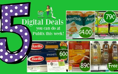 5 Digital Deals you can do at Publix this week!