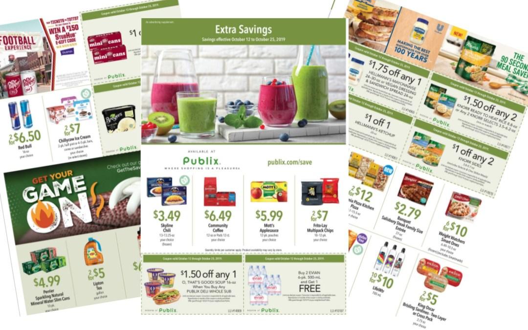 Publix Green Flyer Full MatchUps & Ad Scan 10/12 – 10/25