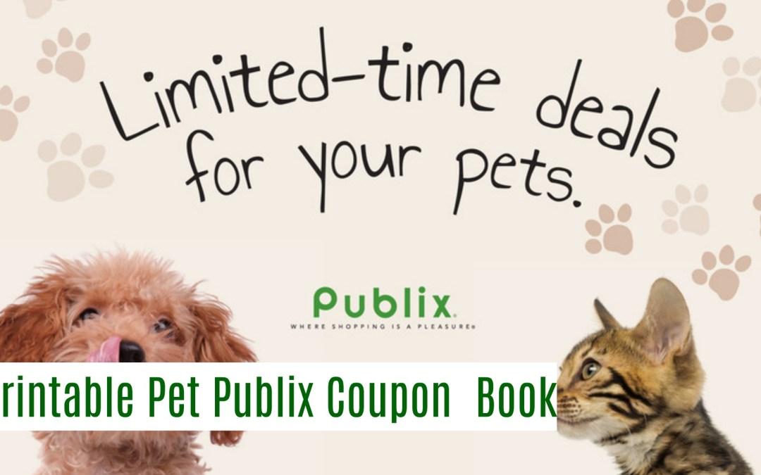 Publix Pet Coupon Book 10/9 11/6