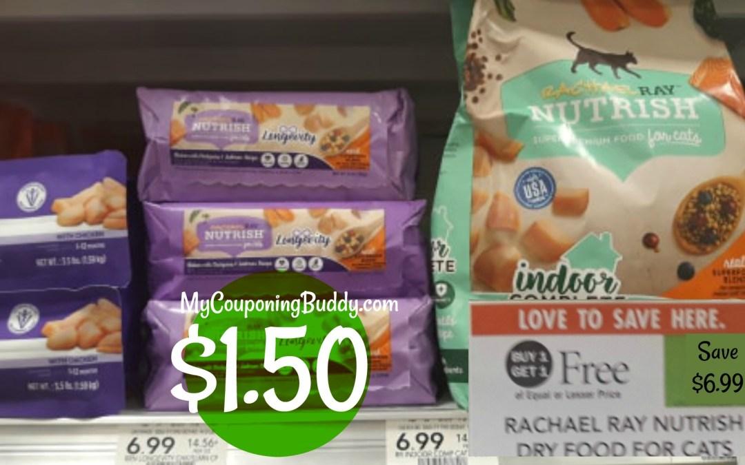 Rachael Ray Cat Food $1.50 at Publix
