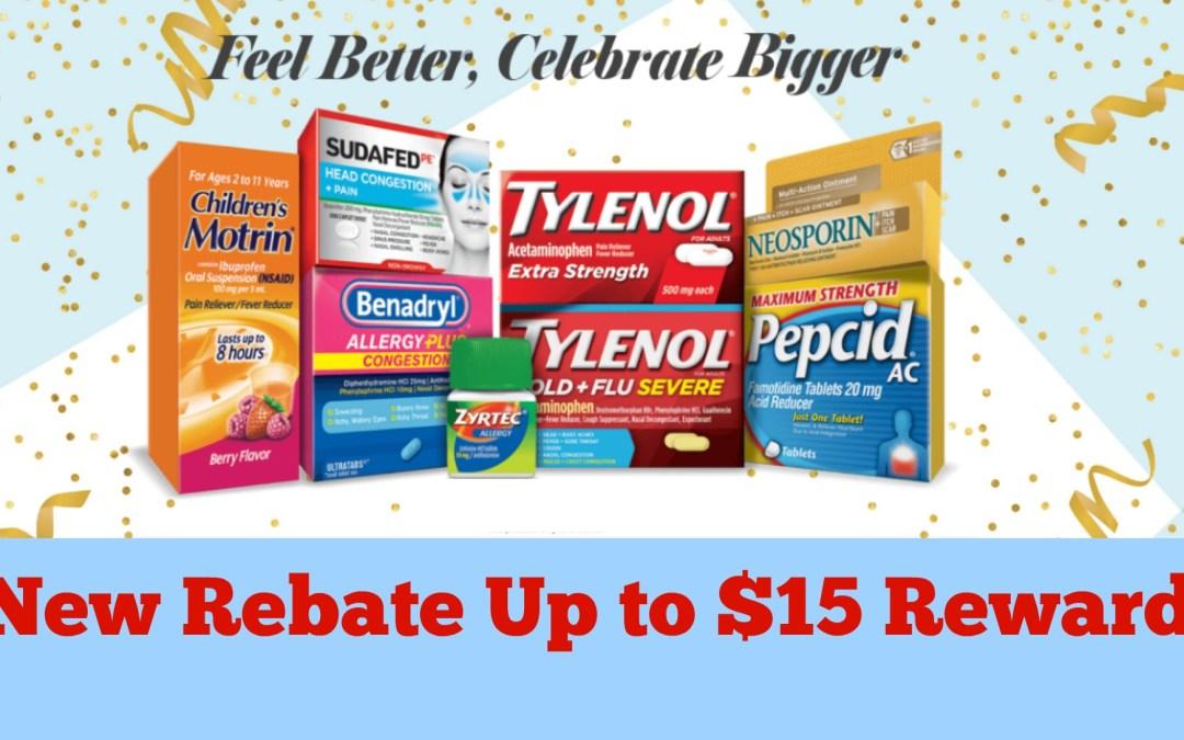 Feel Better, Celebrate Bigger Publix Couponing Rebate