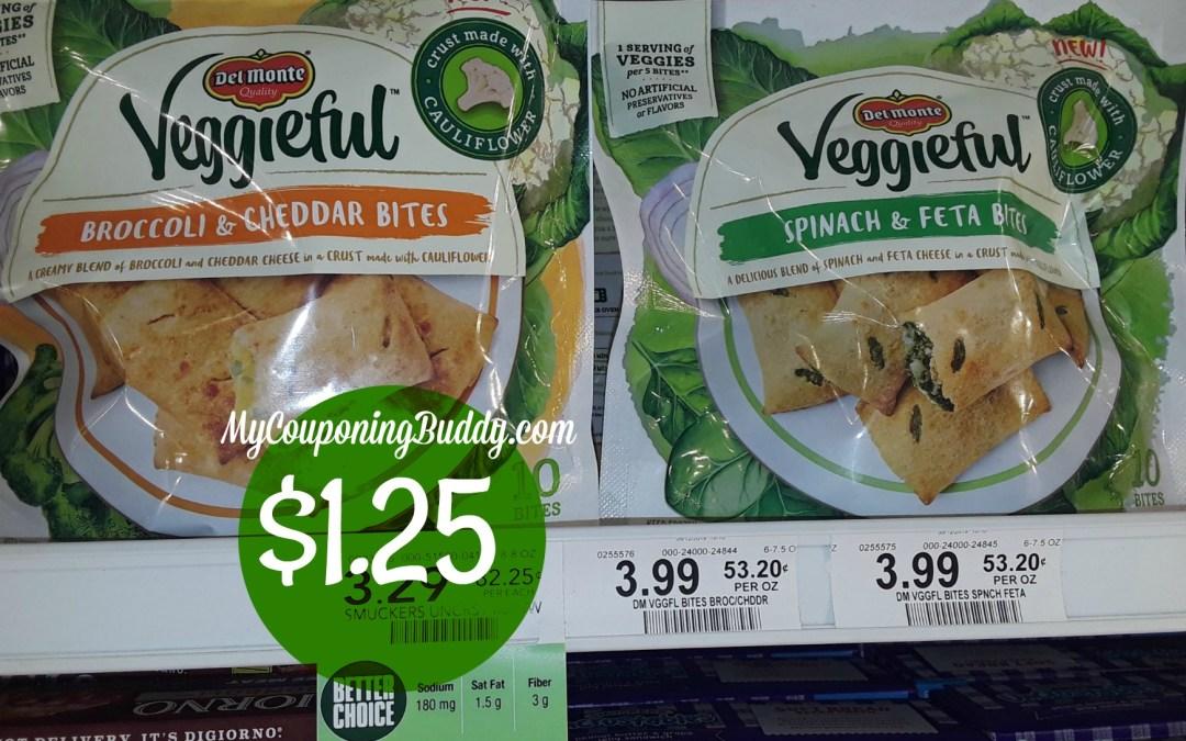 Del Monte Veggiefuls $1.25 at Publix