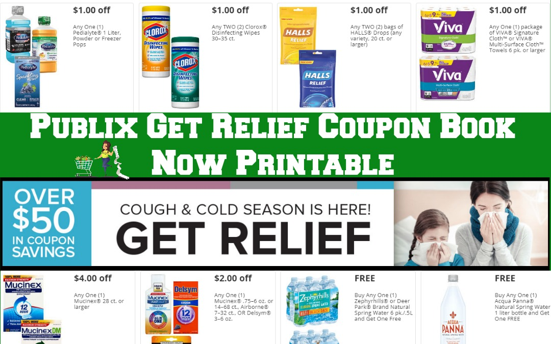 Publix Get Relief Coupon Book ~ Now Printable