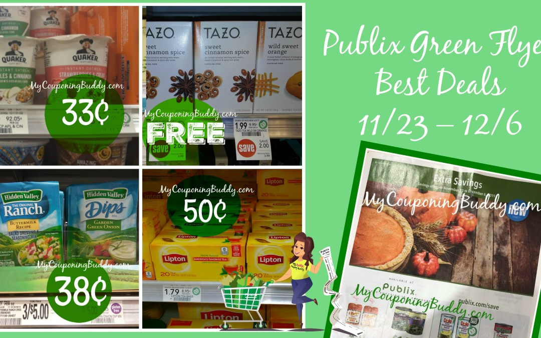 Publix Green Grocery Flyer 11/23 – 12/6
