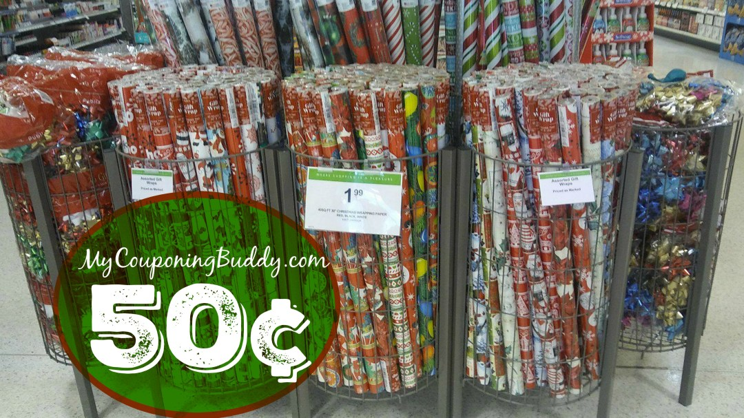 Holiday wrapping Paper at Publix BOGO