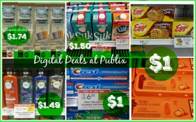 6 Publix Digital Coupon Deals You Can Do This Week