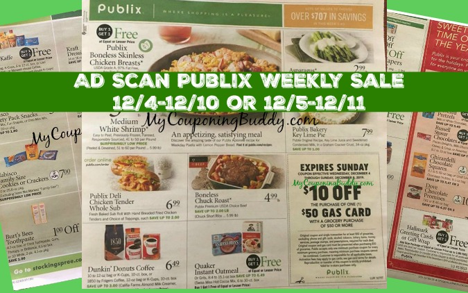Publix Weekly Ad Preview 12/4/19 -12/10/19 or 12/5/19 -12/11/19