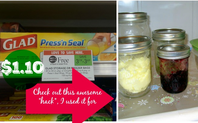 Publix Glad Press n Seal Hack Wrap 85¢