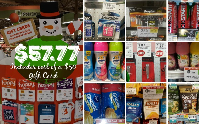 Publix Gift Card Deal Scenario $57.77 for all this & a $50 Gift Card