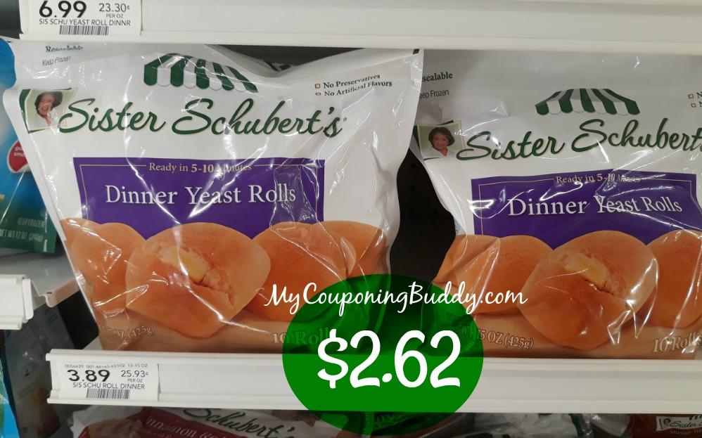 Sister Schubert S Yeast Dinner Rolls 2 62 A Bag At Publix My