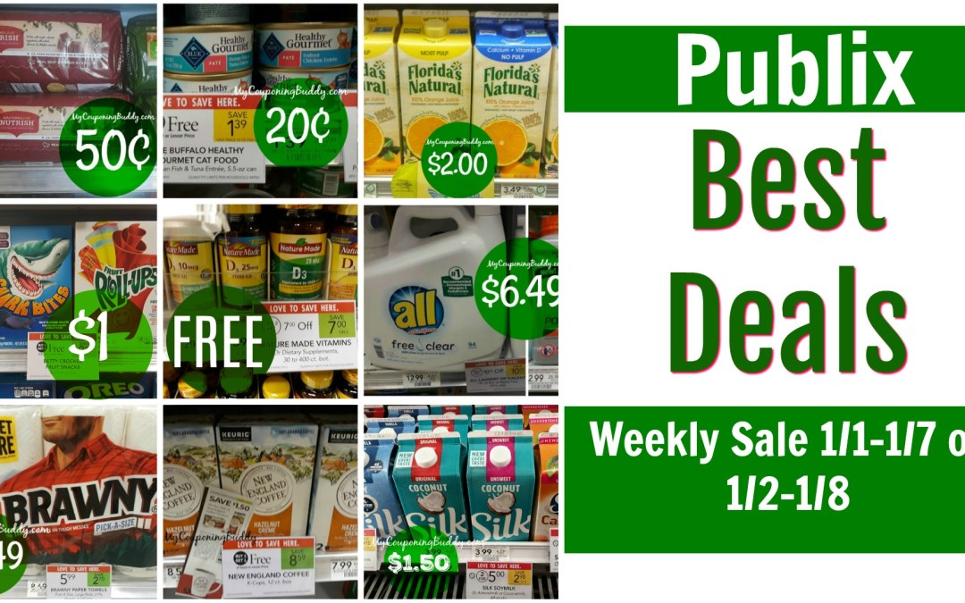 Publix Weekly Sale Preview 1/1-1/7 or 1/2-1/8