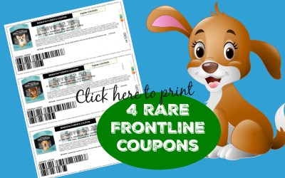 4 New Frontline Printable Coupons