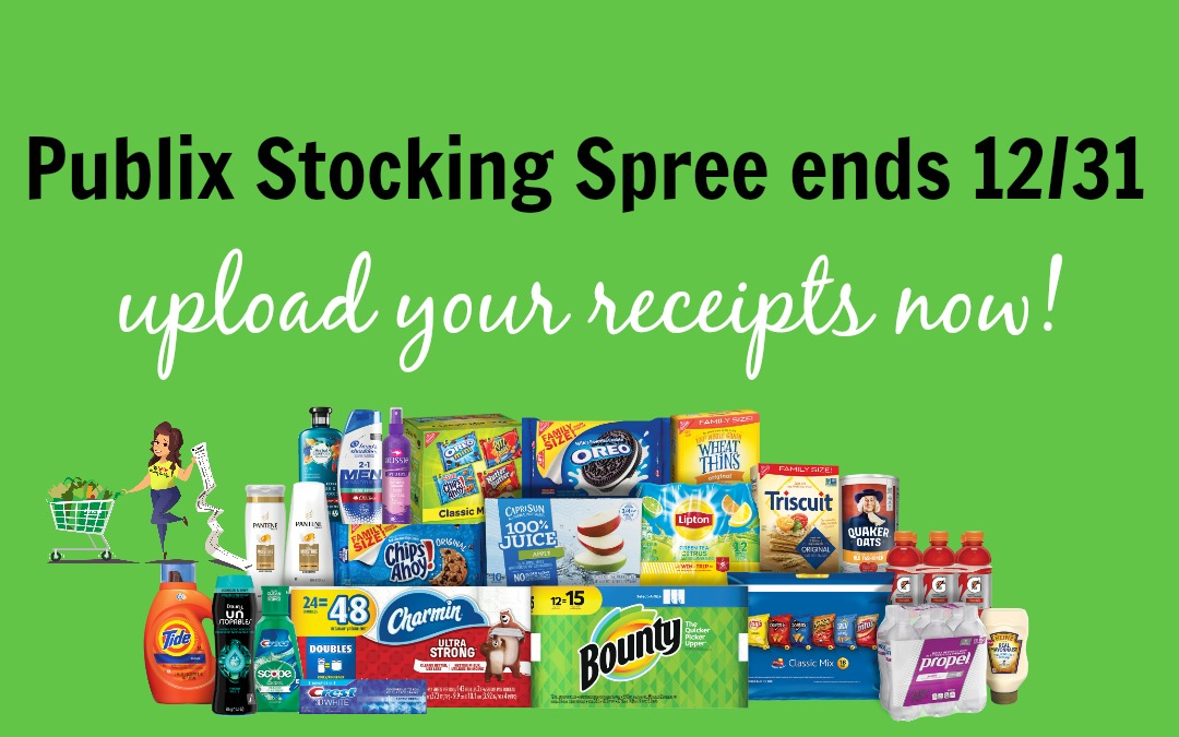 2019 Stocking Spree is ending – Upload your receipts~